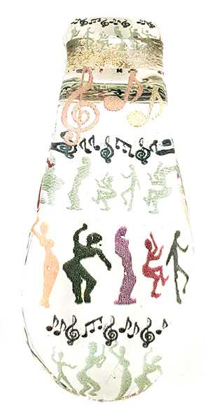 Pendant with dancing Soul Gestures